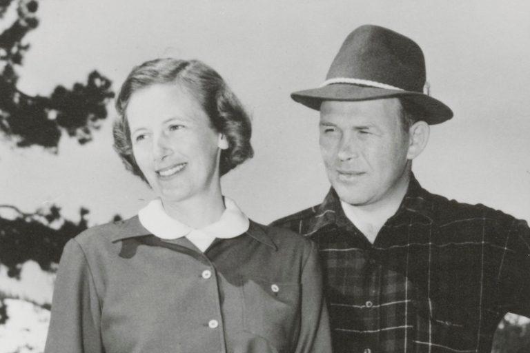 Photo of Bill and Flora Hewlett taken in 1960.