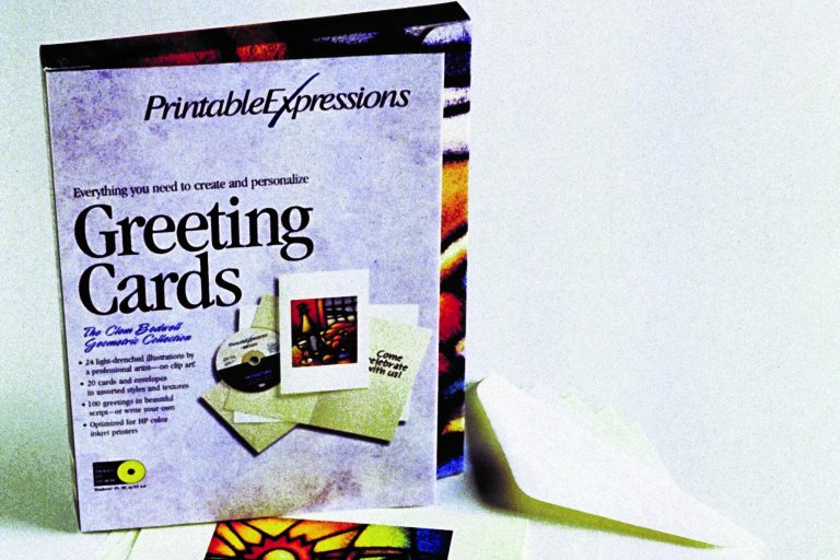 The Printable Expressions kit for creating personalized greeting cards.