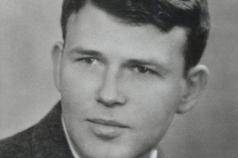Headshot of Bill Hewlett circa 1939.