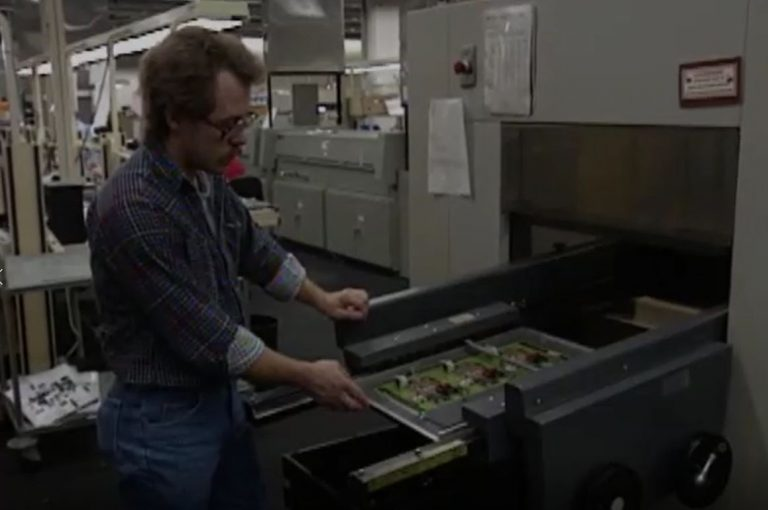 A video showing how HP eliminated ozone-depleting chemicals from production.