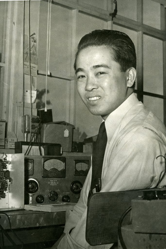 Photo of Art Fong, the earliest known Asian-American engineer to work for a Silicon Valley tech company.
