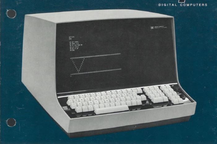 A print ad for the HP 2600A keyboard-display terminal.