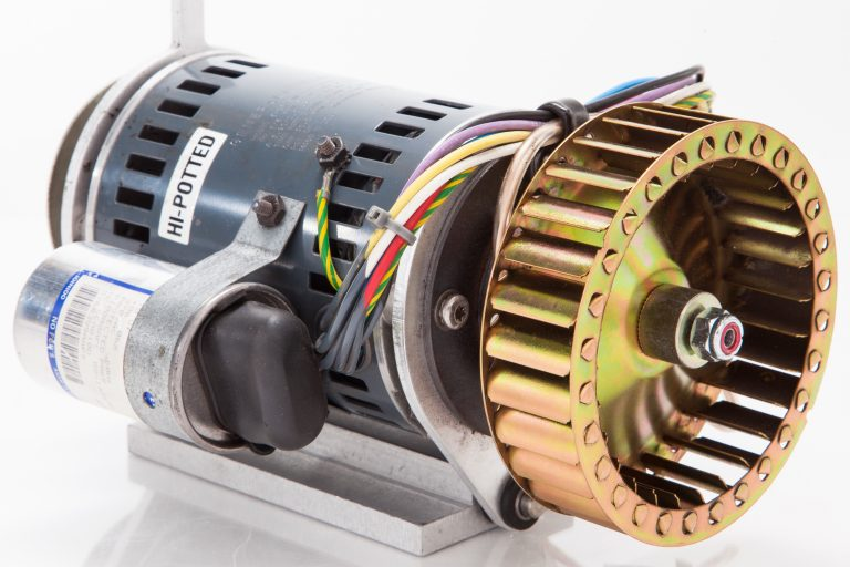 Motor for the 7937 disk drive and ventilation fan.