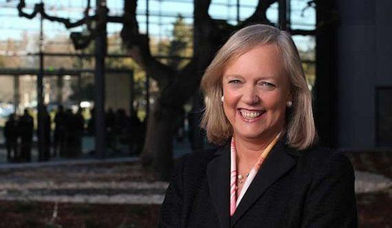 Portrait of Meg Whitman taken during her tenure as the CEO of Hewlett-Packard.