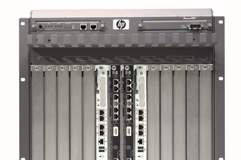 A photo of the bh5700 blade server released in 2006.