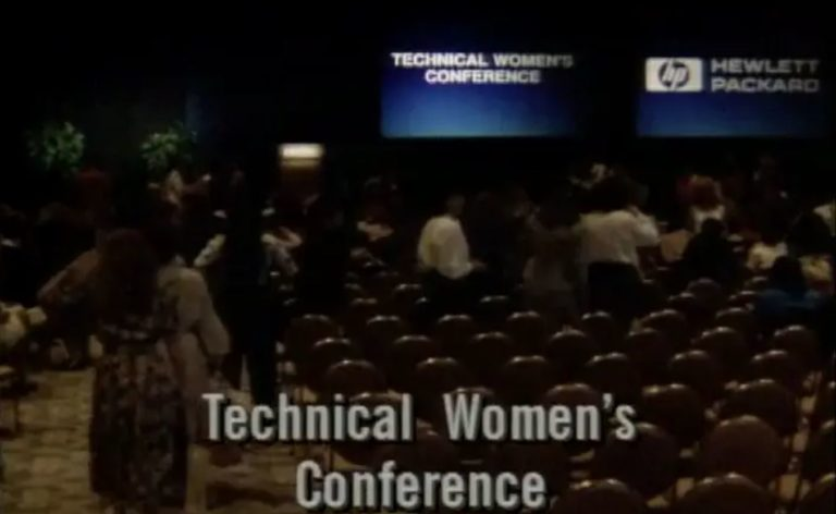 A video covering the Women's Conference